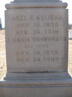 Frances Maria <i>Woodworth</i> Allison
