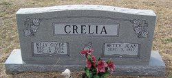 Billy Clyde Crelia
