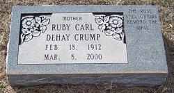 Ruby Carl <i>DeHay</i> Crump