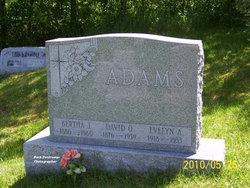 Bertha J. <i>Davis</i> Adams