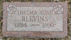 Thelma June Blevins