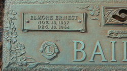 Elmore Ernest Bailey