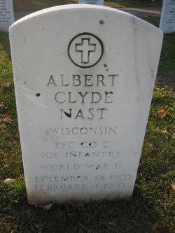 Albert Clyde Nast