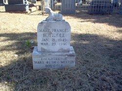 Mary Frances Boyiddle