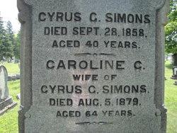 Cyrus G. Simons
