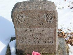 Mary A Bunn
