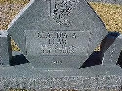 Claudia A. <i>Elam</i> Burnett