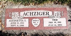 Theodore Ted Achziger
