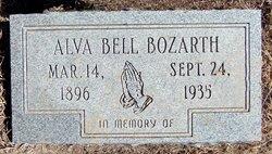 Alva Belle <i>Wellman</i> Bozarth