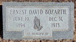 David Ernest Bozarth