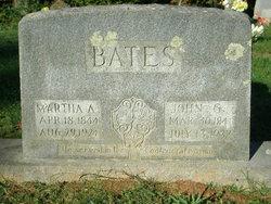 Martha A. <i>McClure</i> Bates