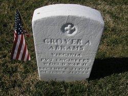 Grover A Abrams