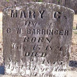 Mary Caroline <i>Melchor</i> Barringer