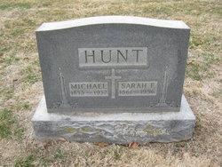 Sarah Elizabeth <i>Sprenger</i> Hunt
