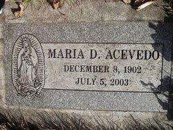 Marie De Jesus Acevedo