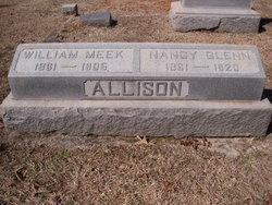 Nancy Eliza <i>Glenn</i> Allison