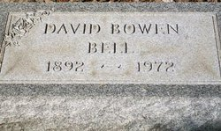 David Bowen Bell