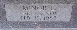 Minor E. Hudson