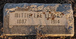 Mittie Lee <i>Bird</i> Lefors
