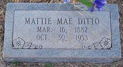 Martha Mae Mattie <i>Wiley</i> Ditto