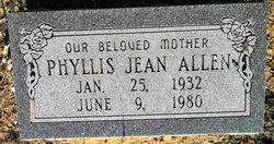 Phyllis Jean <i>Behrends</i> Allen