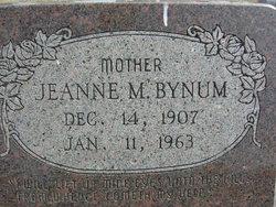 Editha Jeanne <i>Myers</i> Bynum