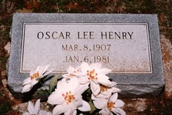Oscar Lee Henry