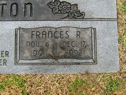 Frances Rebecca Clinton