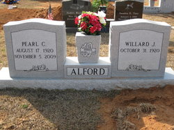 Pearl <i>Cothern</i> Alford