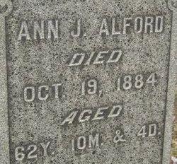 Ann Jamima <i>Kilgore</i> Alford