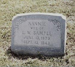 Nancy Thatcher Nan or Nannie <i>Ford</i> Sample