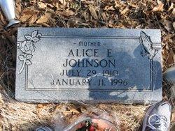 Alice E. <i>Root</i> Johnson