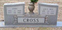 Lola Mae <i>Ferguson</i> Cross