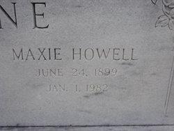 Maxie <i>Howell</i> Cone
