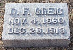 Duncan F Greig