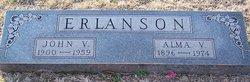 Alma Victoria <i>Olson</i> Erlanson