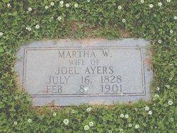 Martha Patricia <i>Whitaker</i> Ayers