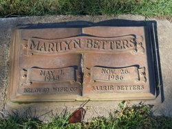 Marilyn Jewel <i>Lancaster</i> Betters