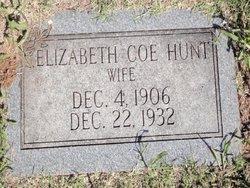 Elizabeth Coe Hunt