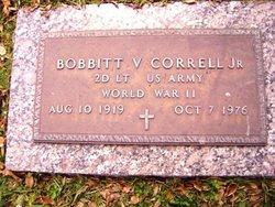 Bobbitt Vitalis Correll, Jr