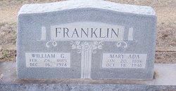 Mary Ada <i>Reed</i> Franklin