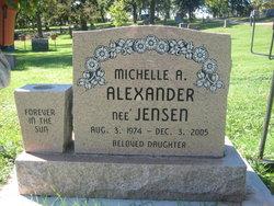 Michelle Alina <i>Jensen</i> Alexander