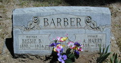 Bessie B <i>Carrington</i> Barber