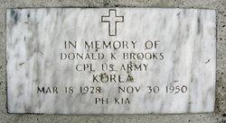 Donald K Brooks