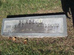Helen F <i>LaCasse</i> Burbeck