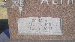 Doris A Althouse