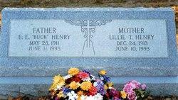 Lillie Marie Elizabeth <i>Timmerman</i> Henry
