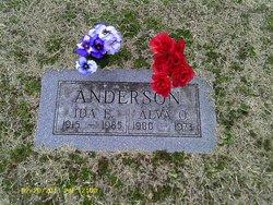Ida Elsie <i>Crain</i> Anderson
