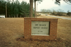Dry Branch Baptist Church Cemetery