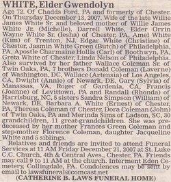 Gwendolyn <i>Coleman</i> White